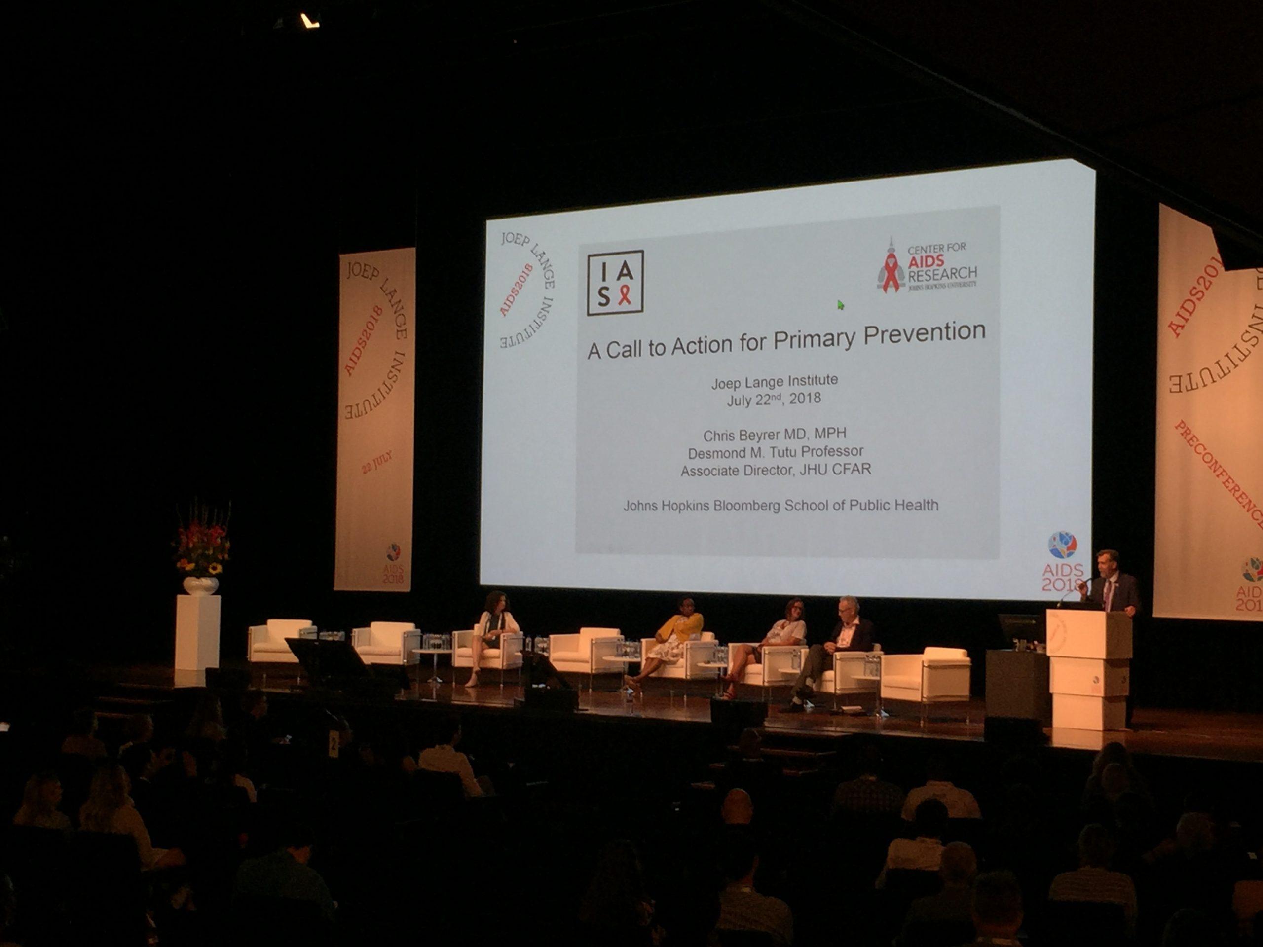 Preconference JLI HIV/AIDS Congres 2018