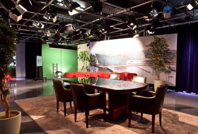 Studio Talkshow Events in Company